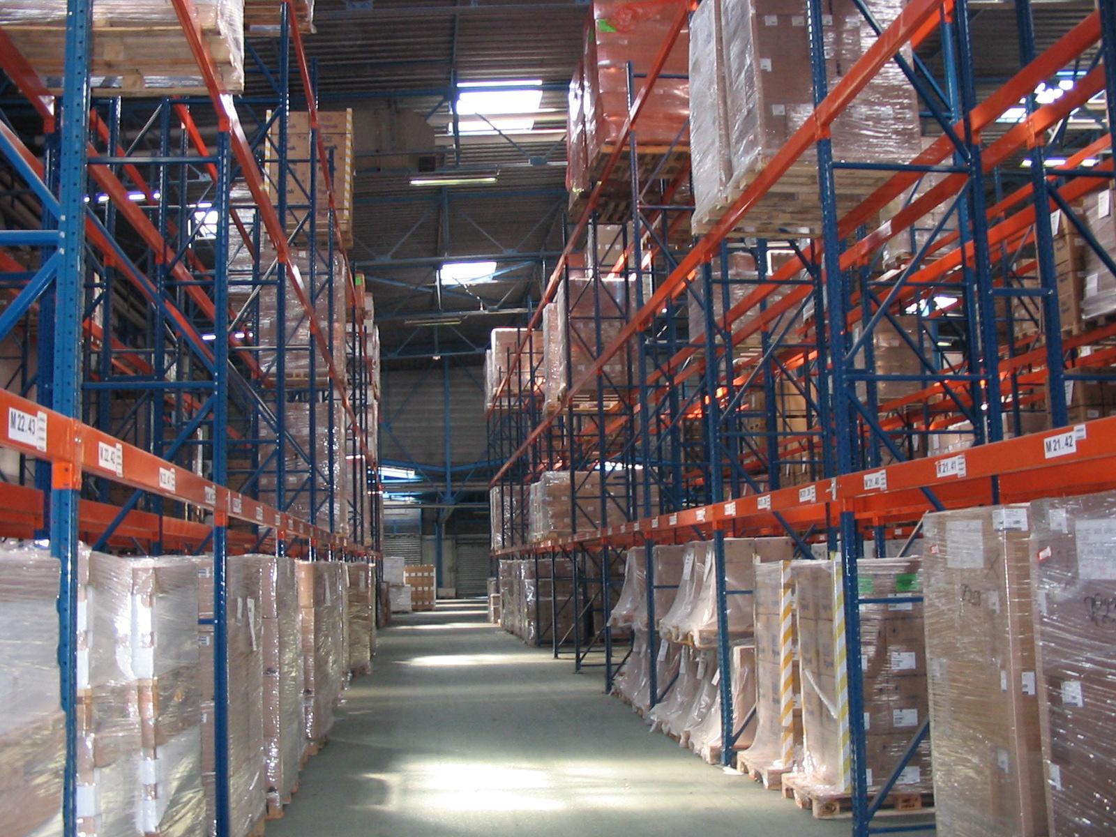 Rayonnage industriel et m tallique - Rack de stockage brico depot ...